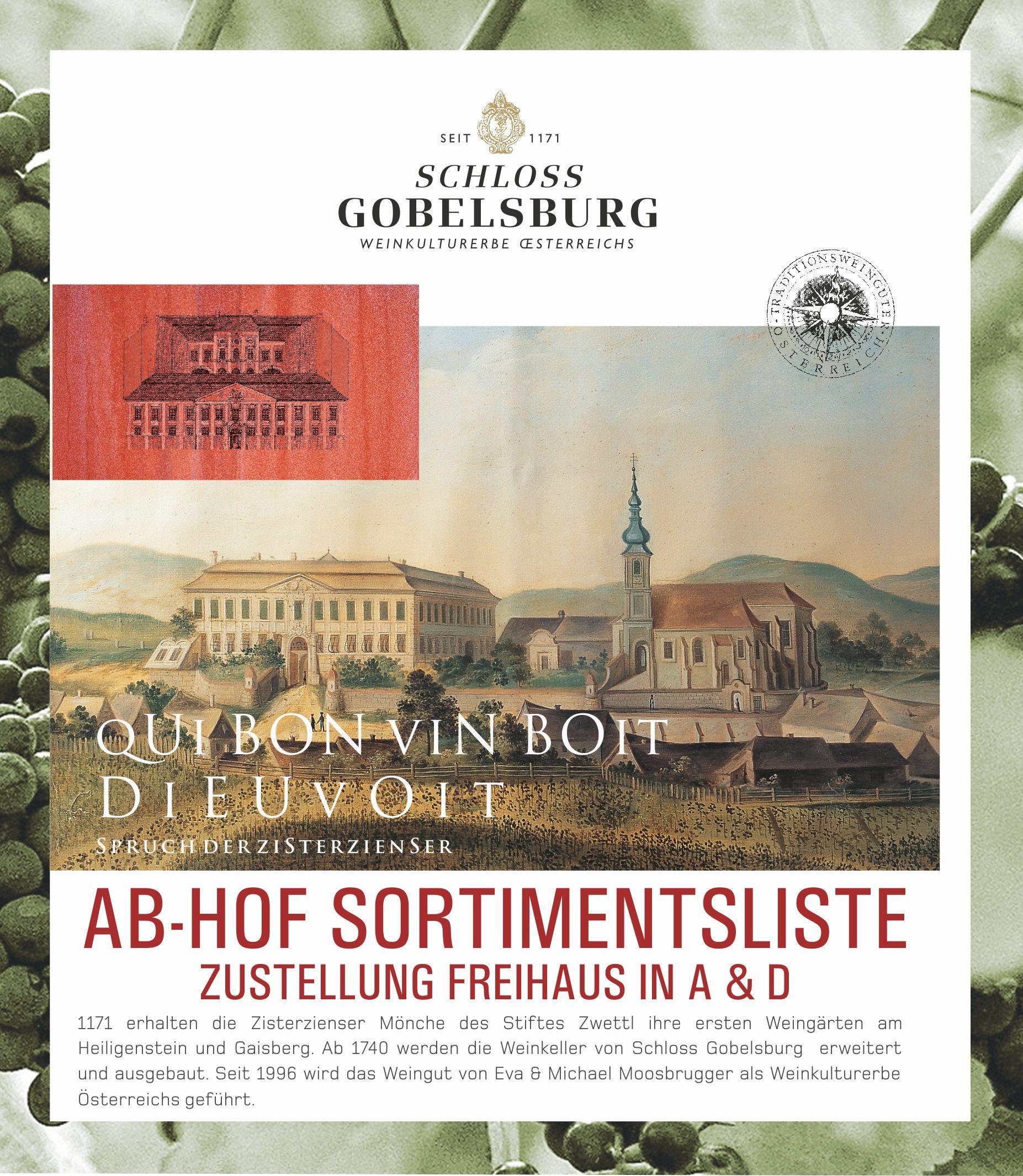 Schloss Gobelsburg on Facebook