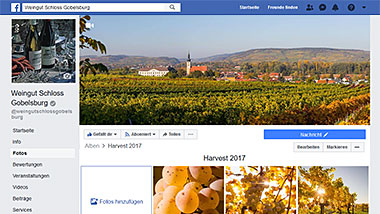 Schloss Gobelsburg on Facebook