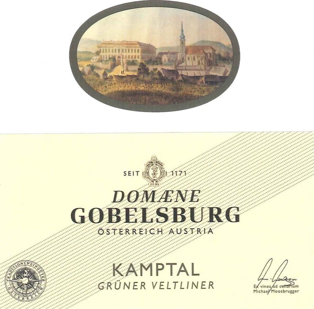 Label Domaene Gobelsburg