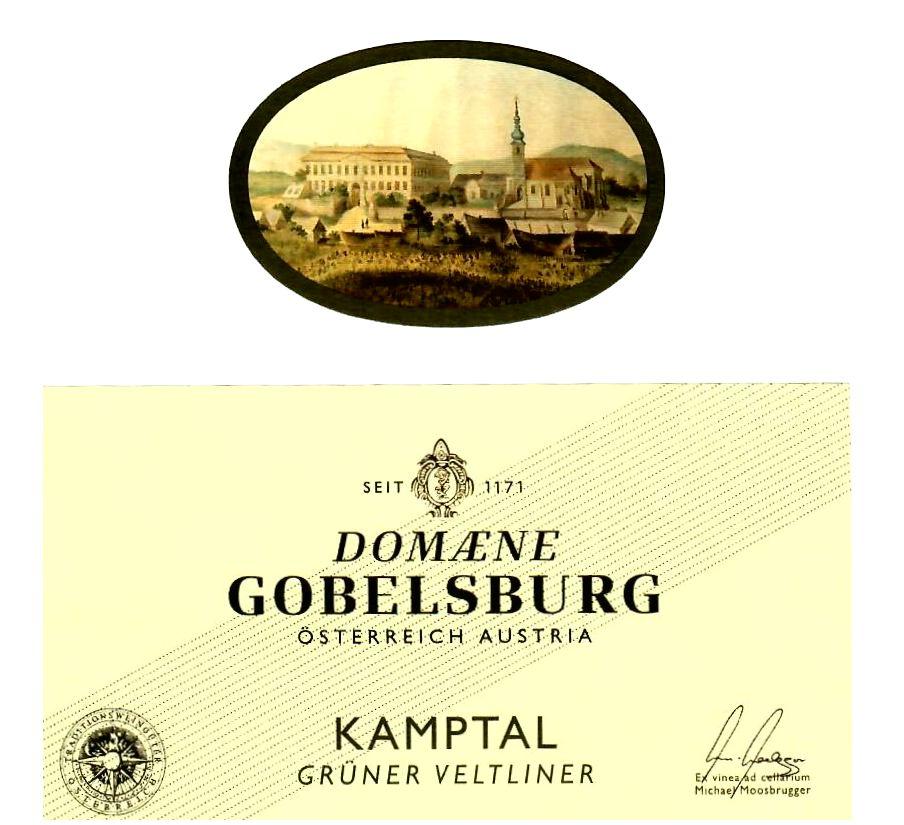 Weinlinie Domaene Gobelsburg