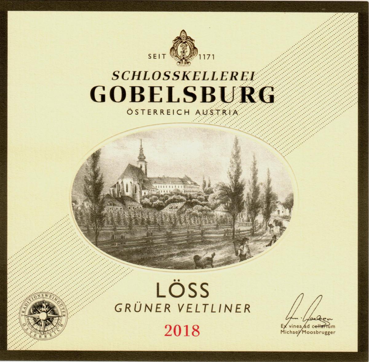 Label Schlosskellerei Gobelsburg