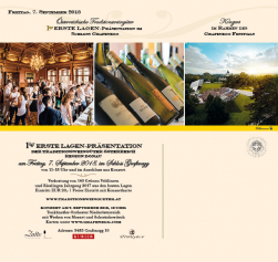 Invitation Erste-Lagen-Presentation