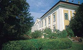 Schloss Gobelsburg mit Schlossgarten