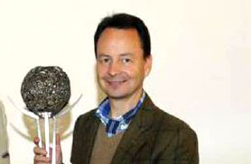 Michael Moosbrugger mit Trophäe